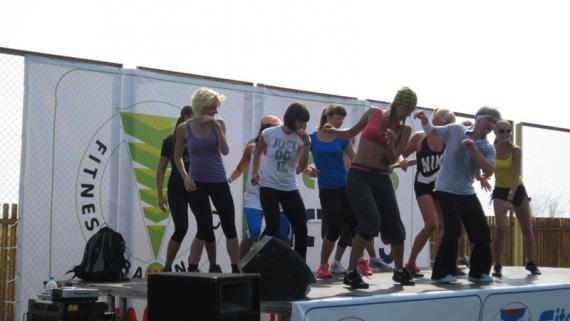 Летняя фитнес-конвенция в Одессе