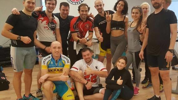Первый в Украине сертификационный семинар от Schwinn Cycling International