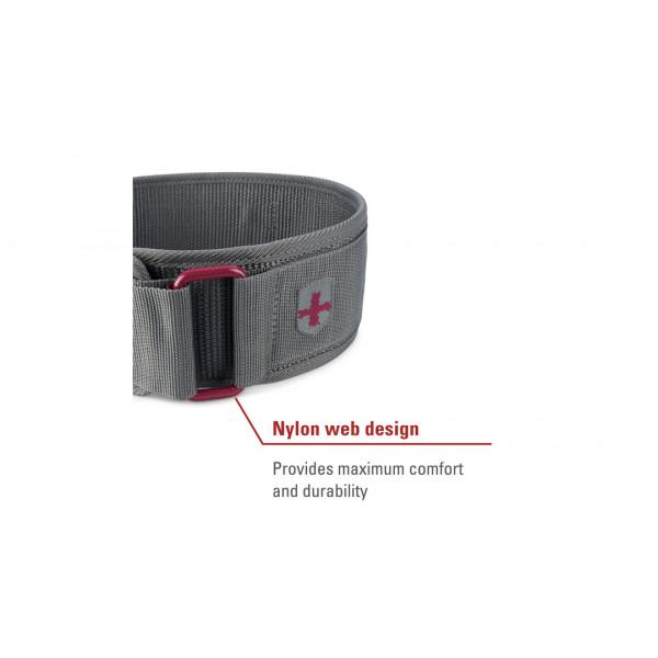 цена Пояс атлетический нейлоновый Harbinger (размер S, M, L, XL)