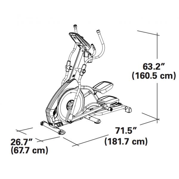 цена Эллиптический тренажер Nautilus E626
