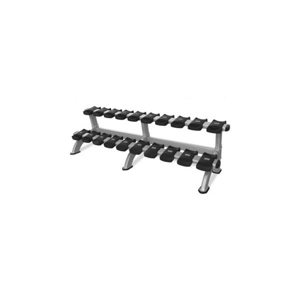 цена Стойка для 10 пар гантелей Nautilus Benches and Racks
