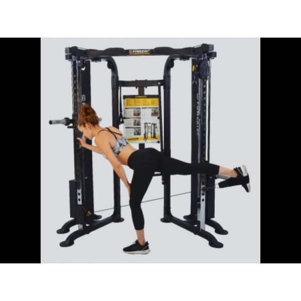 цена POWERTEC WB-FTD18 (Functional Trainer Deluxe) Многофункциональная Станция