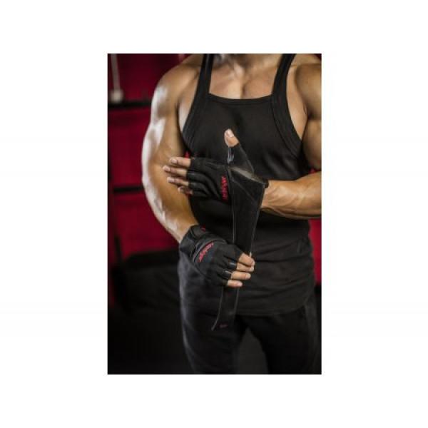 цена Перчатки Harbinger 1140 Pro WristWrap (размер S, M, L, XL, XXL)