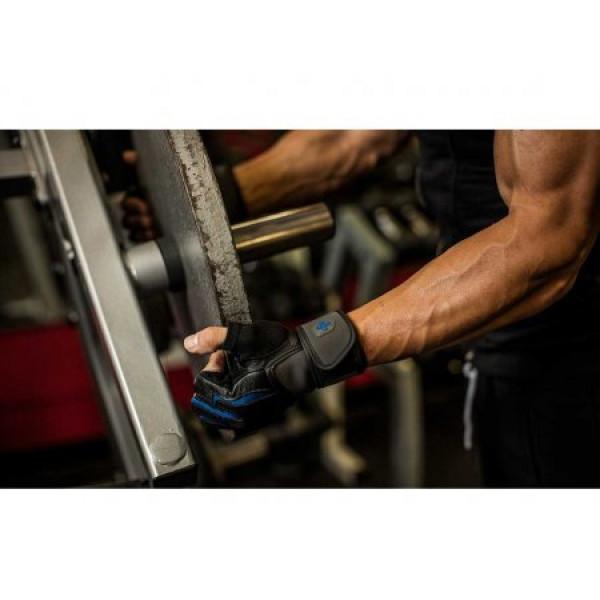 цена Перчатки мужские Harbinger Training Grip Wristwrap 1250 (размер S, M, L, XL, XXL)