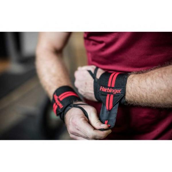 цена Кистевой бинт Harbinger Red Line Wristwraps