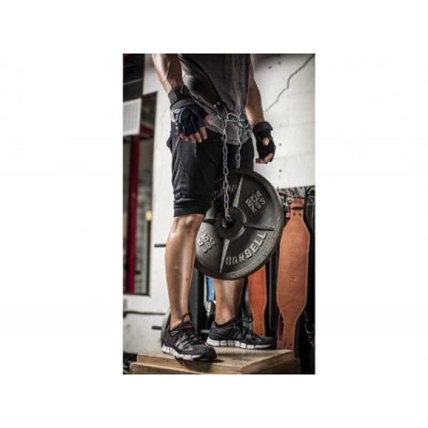 цена Пояс кожаный для отягощений Harbinger Leather Dip Belt