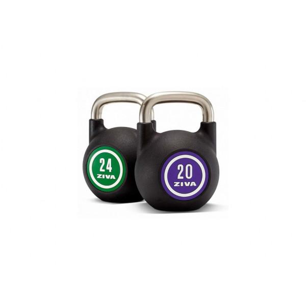 Гири Ziva с уретановым покрытием от 4 до 48 кг